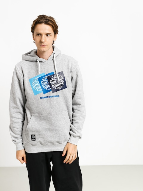 MassDnm Replay HD Hoodie (light heather grey)