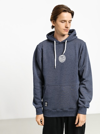 MassDnm Base Small Logo HD Hoodie (heather navy)