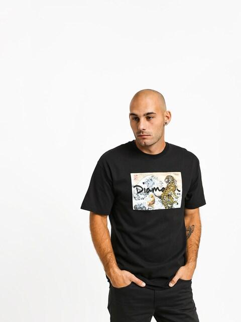 Diamond Supply Co. Tiger Wave T-shirt (black)