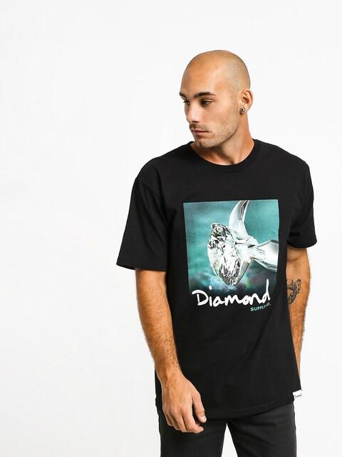 Diamond Supply Co. Shimmer T-shirt (black)