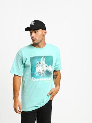 Diamond Supply Co. Shimmer T-shirt (diamond blue)