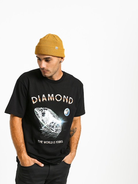 Diamond Supply Co. World Is Yours T-shirt (black)