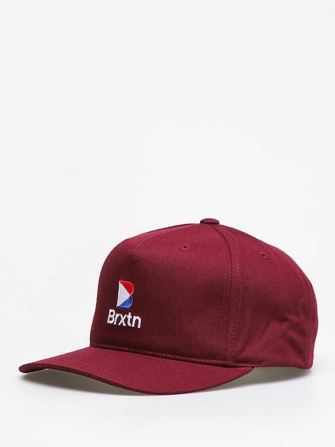 Brixton Stowell II Mp Snbk ZD Cap (maroon)