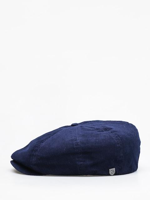 Brixton Brood Cord Snap ZD Flat cap (patriot blue)