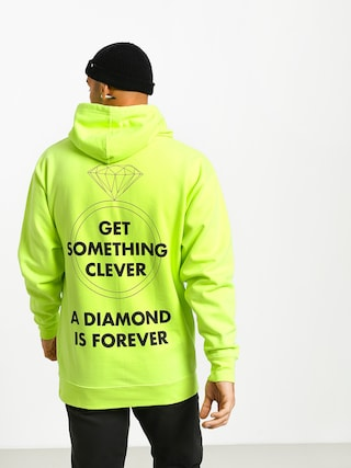 Diamond Supply Co. Shimmer Og Scrpit HD Hoodie (safety green)