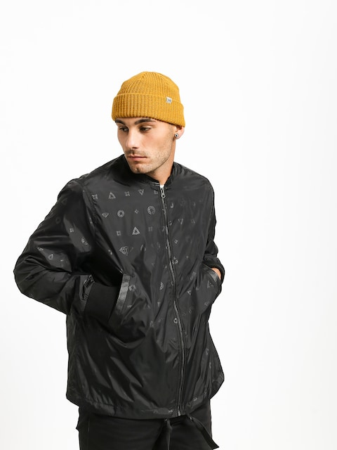 Diamond Supply Co. Monogram Jacket (black)