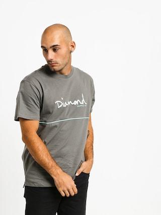 Diamond Supply Co. Hard Cut T-shirt (grey)