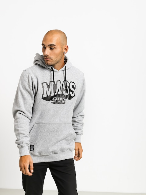 MassDnm Hassle HD Hoodie (light heather grey)