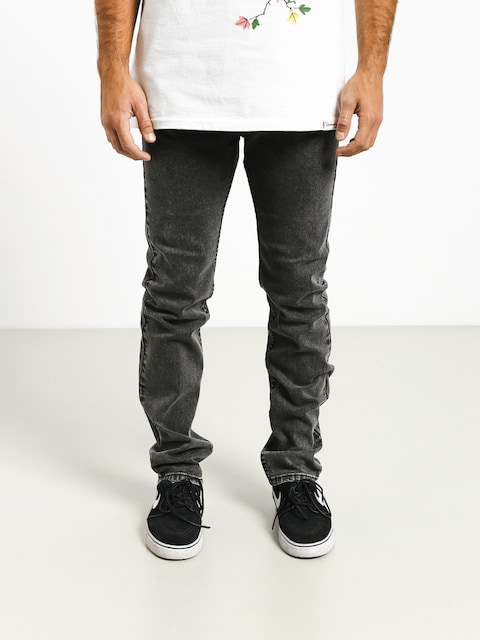 MassDnm Classics Jeans Straight Fit Pants (black stone washed)