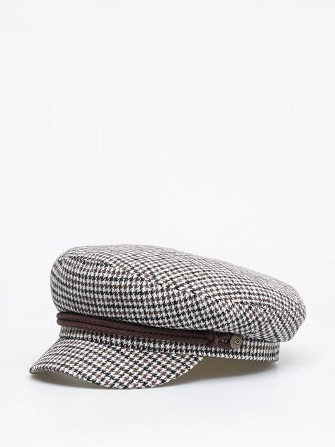 Brixton Fiddler ZD Flat cap (vanilla/brown)