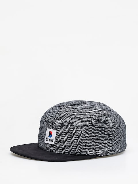Brixton Stowell 5 Panel ZD Cap (black/grey)