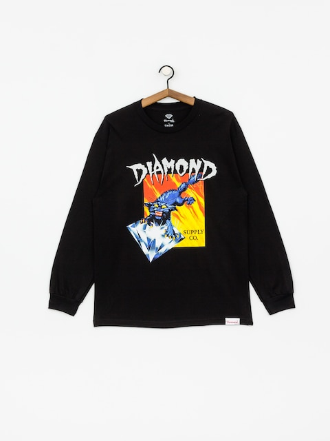 Diamond Supply Co. Greed Longsleeve (black)