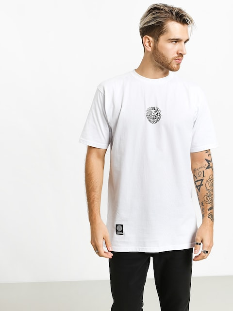 MassDnm Base Small Logo T-shirt (white)