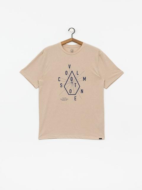 Volcom Eyechart Hth T-shirt (oatmeal)