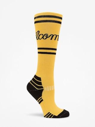Volcom Sherwood Socks Wmn (yel)