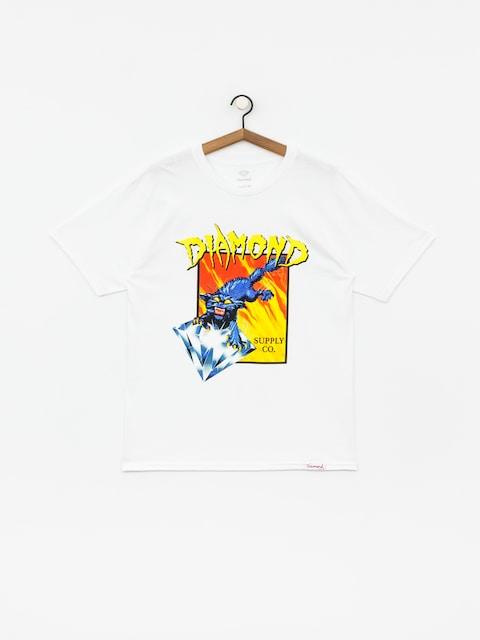 Diamond Supply Co. Greed T-shirt (white)