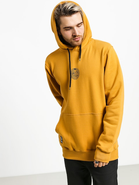 MassDnm Base Small Logo HD Hoodie (wheat)