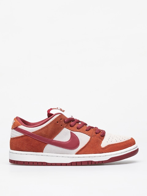 Nike SB Dunk Low Pro Shoes (dark russet/cedar summit white)