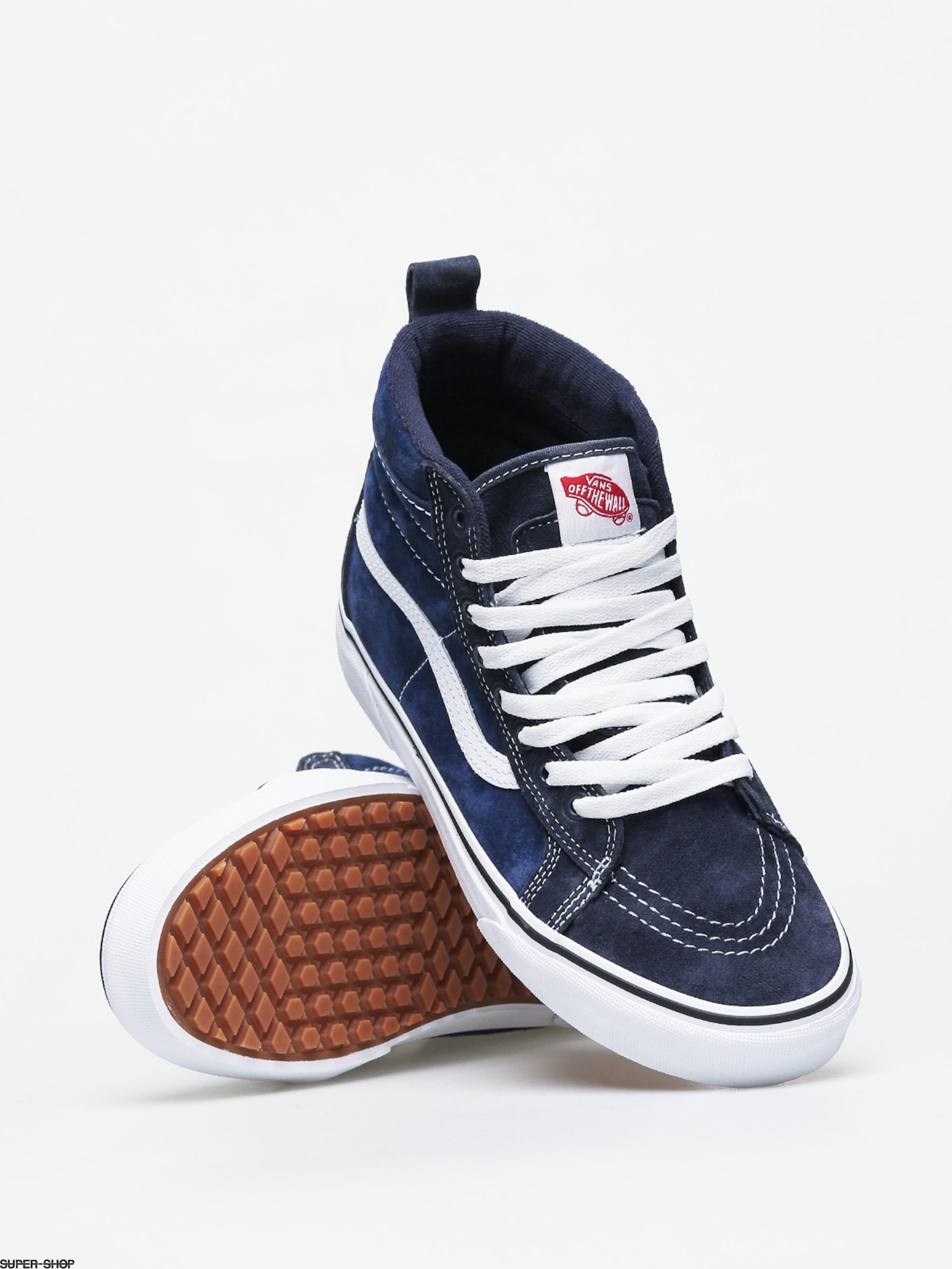 vans sk8 hi mte shoes navy true white vans sk8 hi mte shoes navy true white