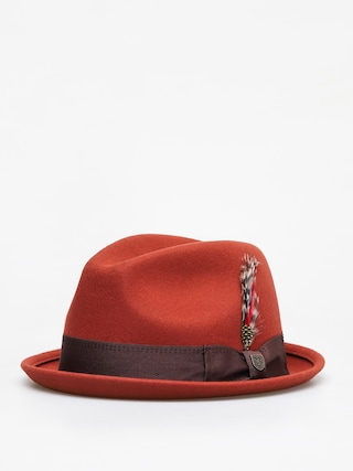 Brixton Gain Fedora Hat (picante)