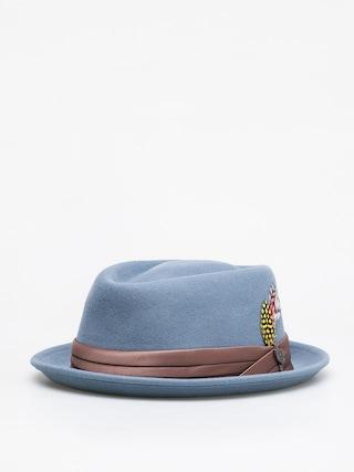 Brixton Stout Pork Pie Hat (blue haze)