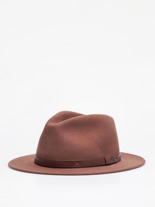 Brixton Messer Fedora Hat (bison)