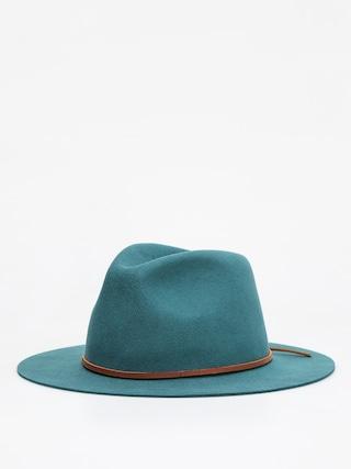 Brixton Wesley Fedora Hat (emerald)