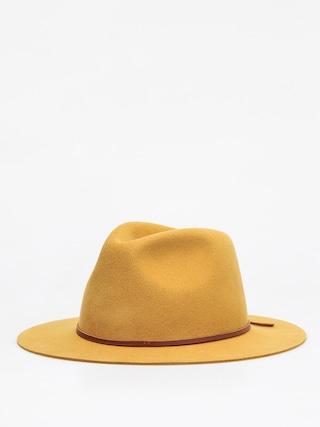 Brixton Wesley Fedora Hat (maize)