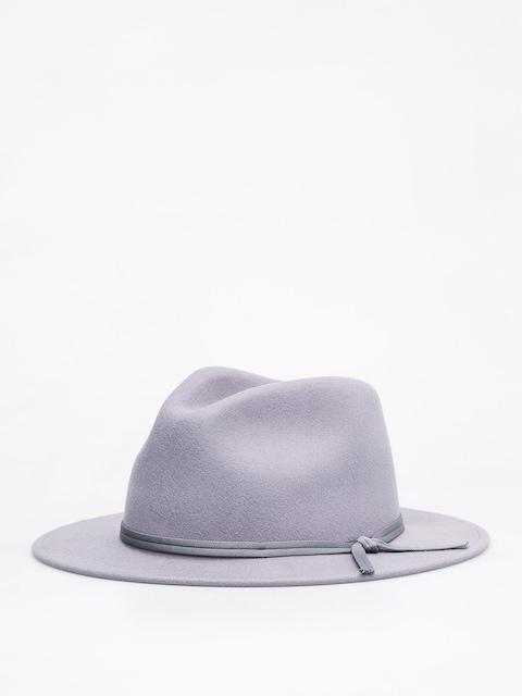 Brixton Coleman Fedora Hat (aluminum)