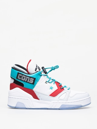 Converse Erx 260 Mid Shoes (white/turbo green/enamel red)