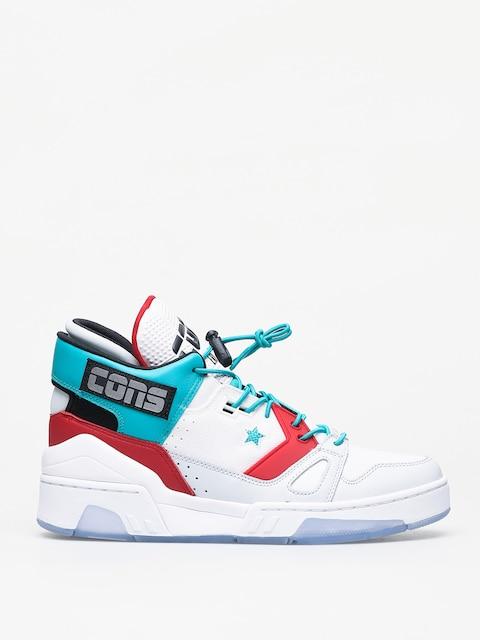 Converse Erx 260 Mid Shoes (white/turbo green/enamel red)