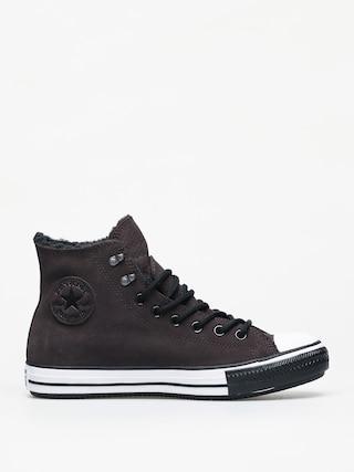Converse Chuck Taylor All Star Hi Winter Leather Gore Tex Chucks (velvet brown/white/black)
