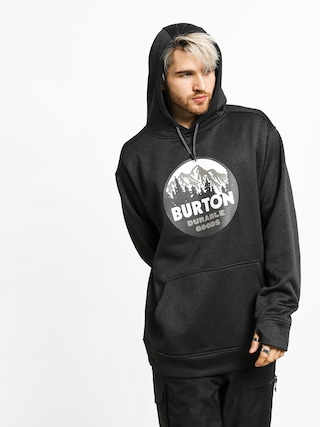 Burton Oak HD Hoodie (true black heather)
