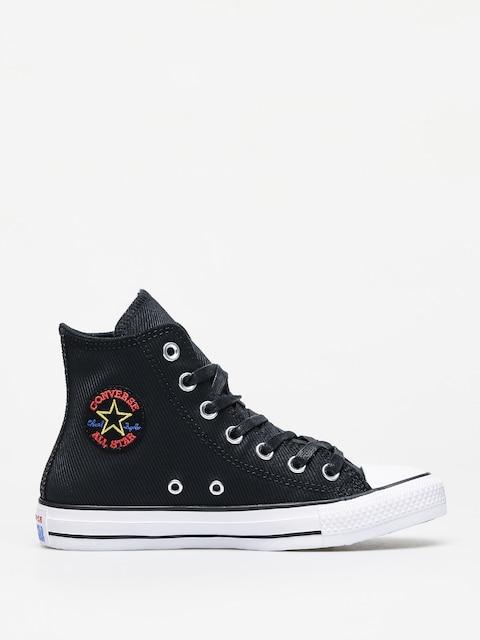Converse Chuck Taylor All Star Hi Retrograde Chucks Wmn (black/habanero red/white)