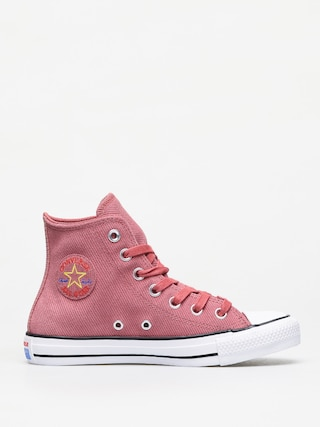 Converse Chuck Taylor All Star Hi Retrograde Chucks Wmn (light redwood/habanero red)
