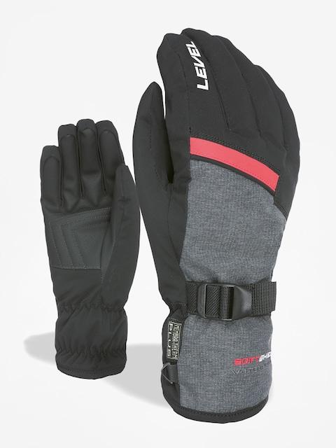 Level Hero Gloves (black grey)