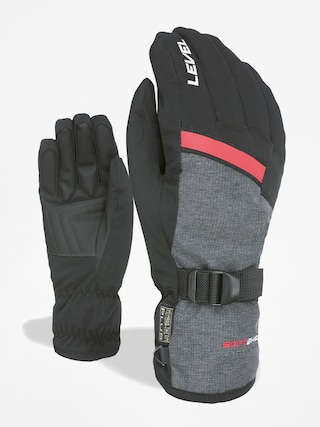Level Hero Gloves (black grey)