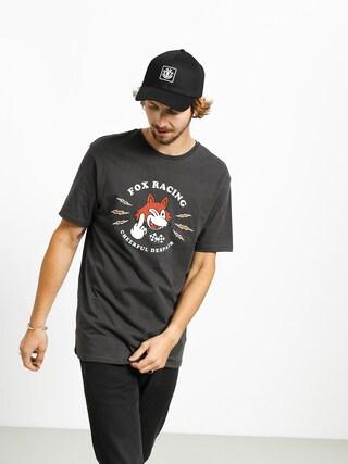 Fox Cheerful Despair T-shirt (blk vin)