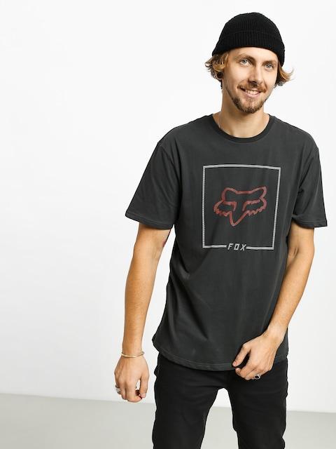 Fox Chapped T-shirt (blk/org)