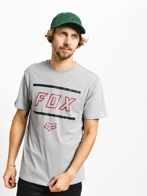 Fox Midway T-shirt (gry/rd)