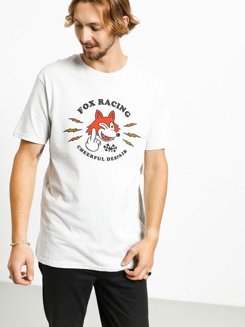 Fox Cheerful Despair T-shirt (lt gry)