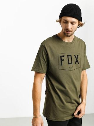 Fox Shield T-shirt (olv grn)