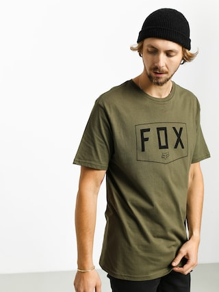 Fox Shield T-shirt (olv grn)