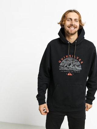 Quiksilver Big Logo Snow HD Hoodie (black)