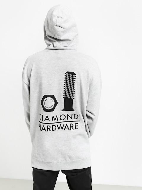 Diamond Supply Co. Secured HD Hoodie (heather grey)