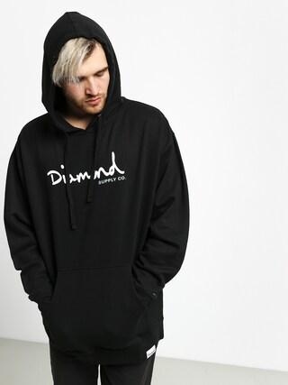 Diamond Supply Co. Shimmer Og Scrpit HD Hoodie (black)