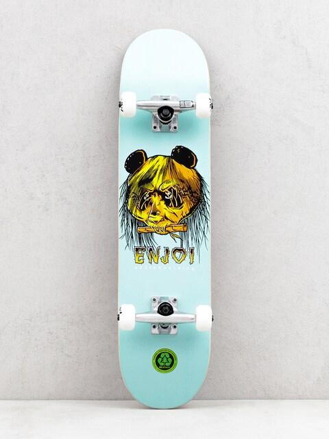 Enjoi 80s Head Skateboard (green)