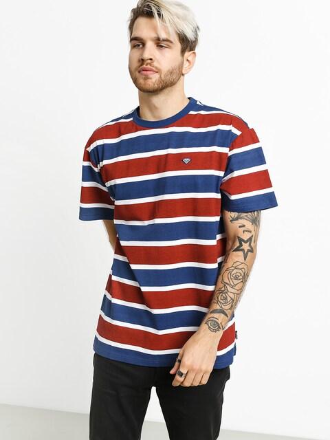 Diamond Supply Co. Hard Cut Striped T-shirt
