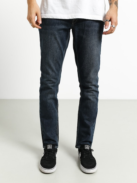 Volcom Vorta Denim Pants (medium blue wash)