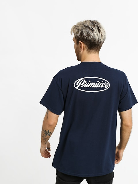 Primitive Luke Script II Pocket T-shirt (navy)